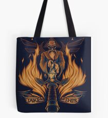 Take This - Print Tote Bag