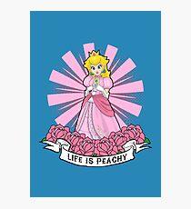 Life Is Peachy Photographic Print