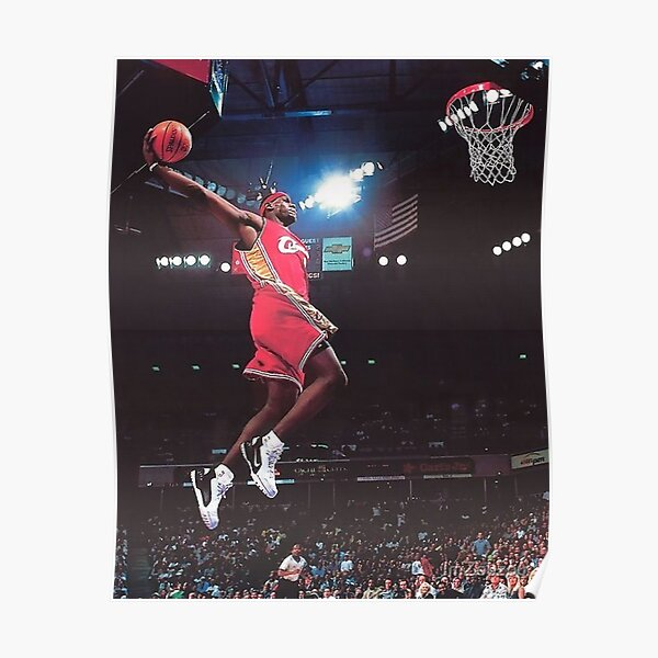 Lebron James poster dunk Póster