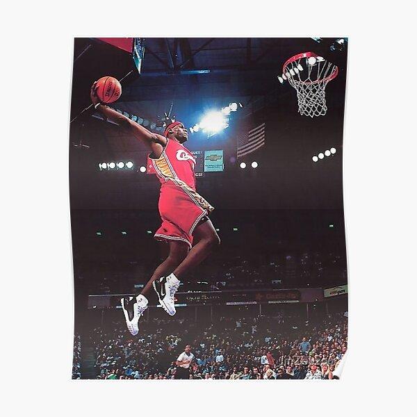 Lebron James poster dunk Poster