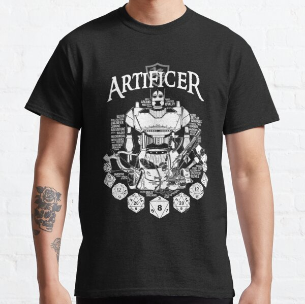 RPG Class Series: Artificer - White Version Classic T-Shirt