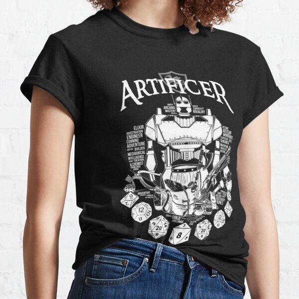 RPG Class Series: Artificer - White Version Classic T-Shirt