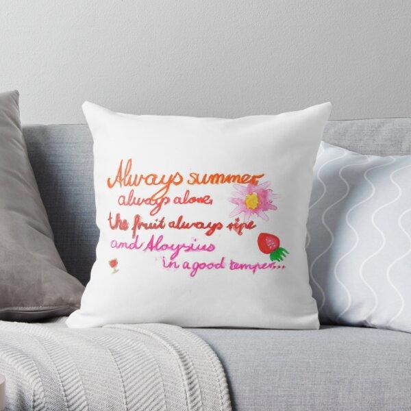 Always summer... Throw Pillow