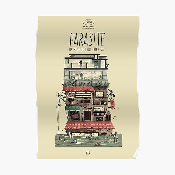 Affiche de film de parasite Poster