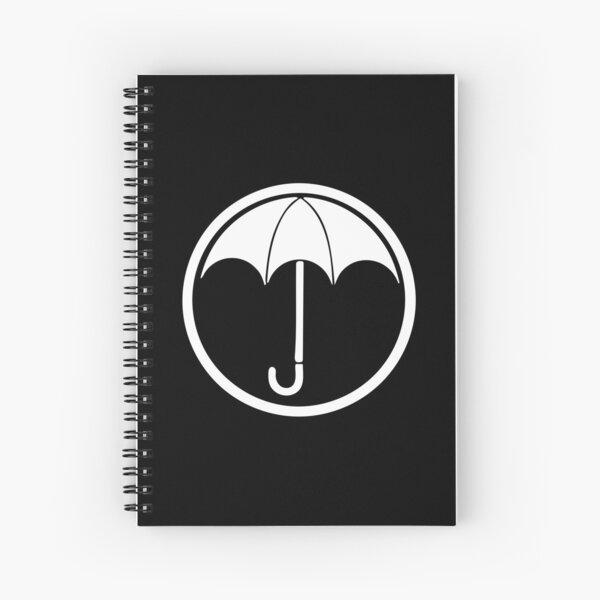 Logotipo de The Umbrella Academy negro Cuaderno de espiral