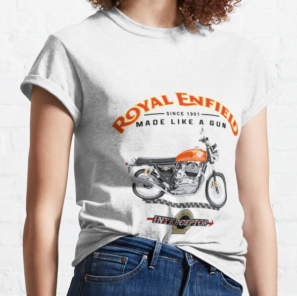 Royal Enfield Interceptor Motorcycle Classic T-Shirt