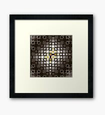 Two Brown Beans Framed Print