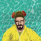 Breaking Bad, Walter White Samsung Case by Jordan Bails