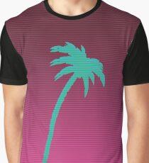 Hotline Miami palmtree Graphic T-Shirt