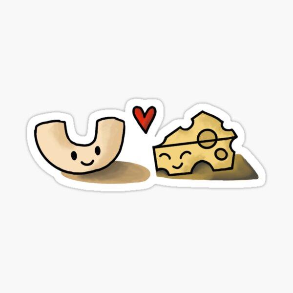Makaroni und Käse Sticker