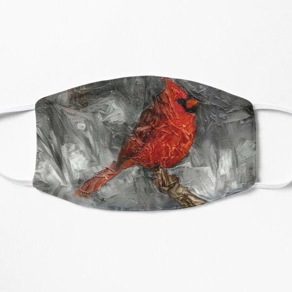 Cardinal Oil Painting Mask