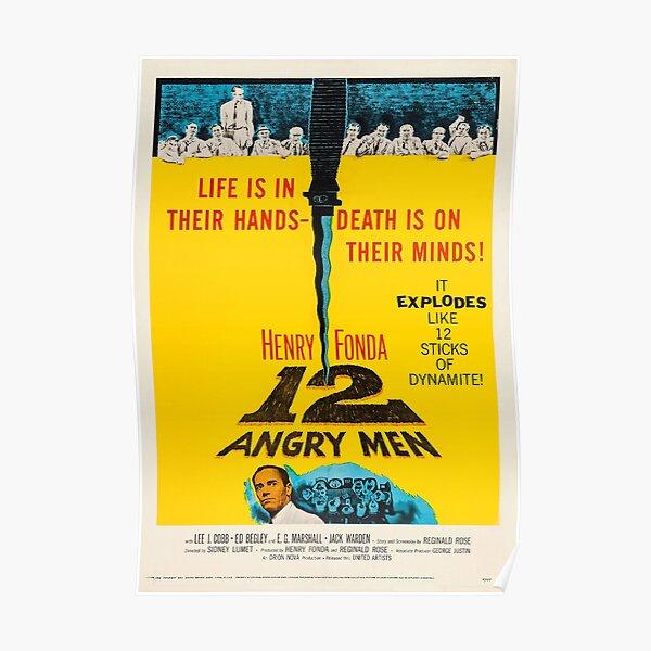 Twelve Angry Men Film Poster Poster