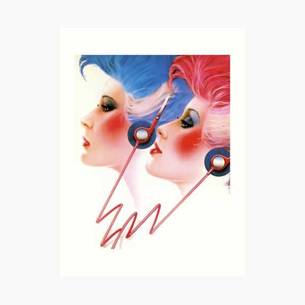 80s pinup art prints redbubble