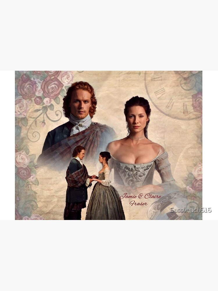 Jamie and Claire Fraser/Outlander Wedding by Sassenach616