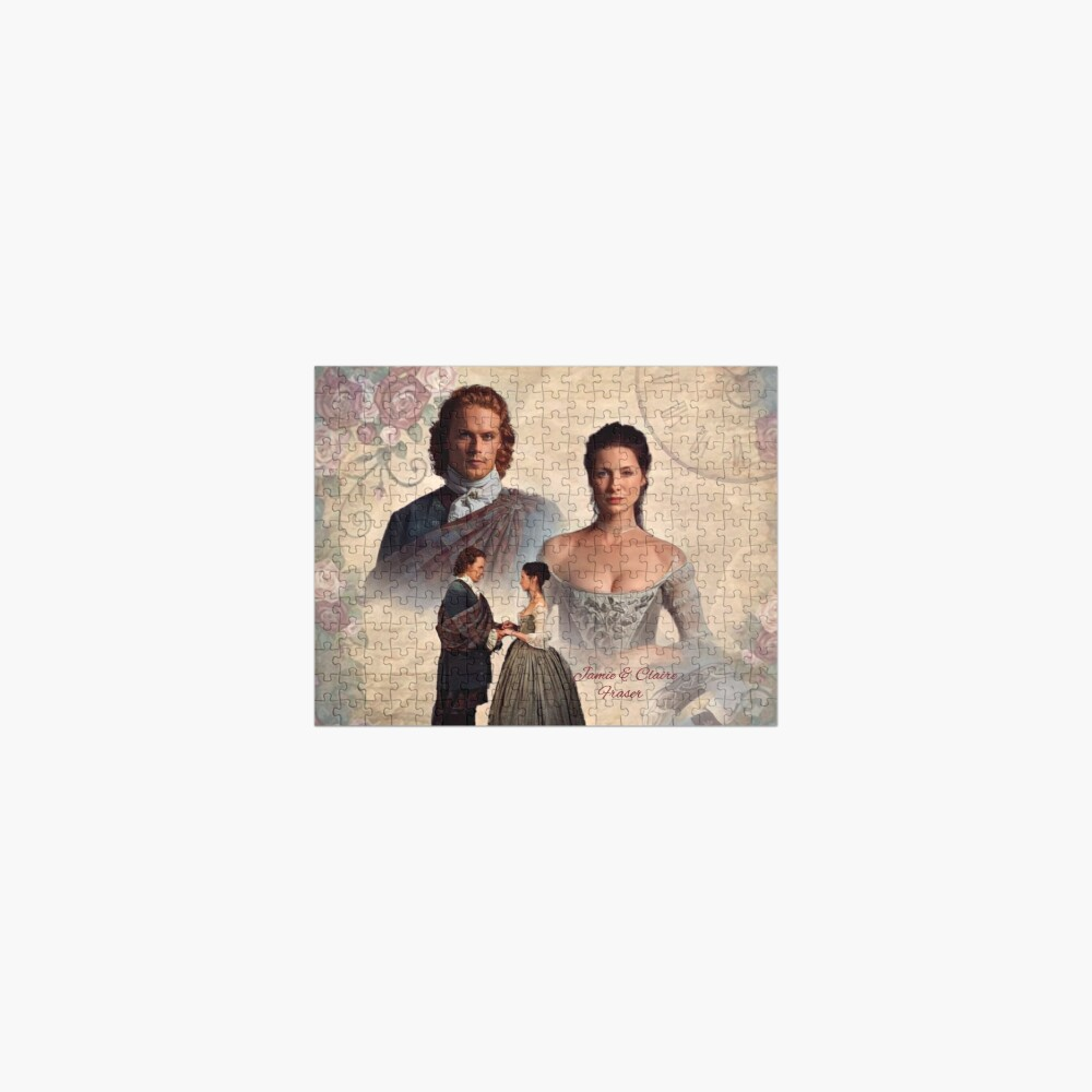 Jamie and Claire Fraser/Outlander Wedding Jigsaw Puzzle