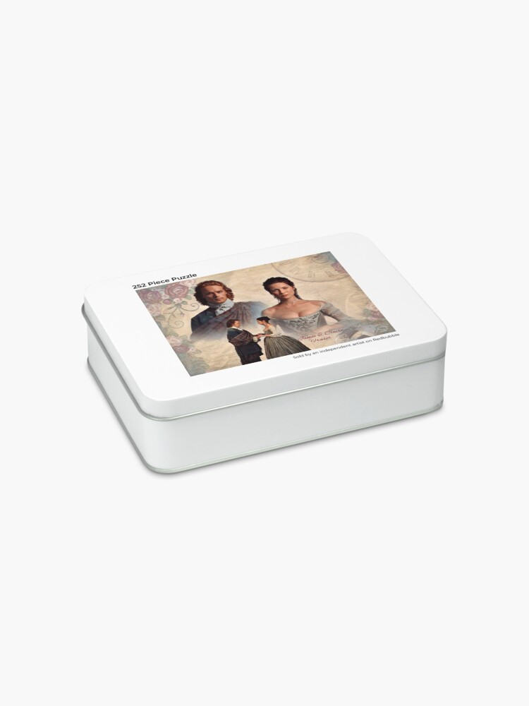 Alternate view of Jamie and Claire Fraser/Outlander Wedding Jigsaw Puzzle