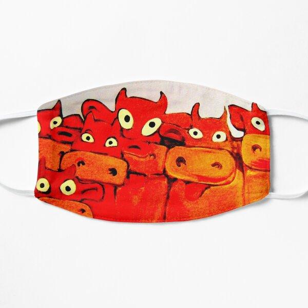 COWS GALORE Flat Mask