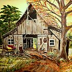 Barn and Buggy by KensArt2