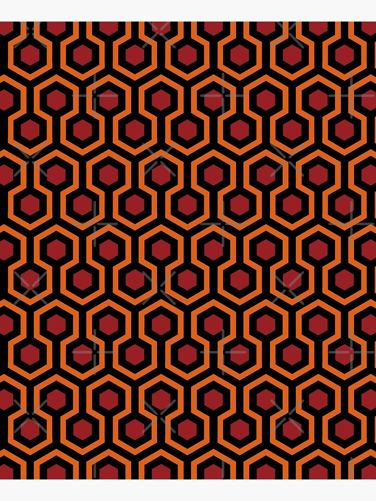 Overlook Hotel Carpet from The Shining Large by jutulen