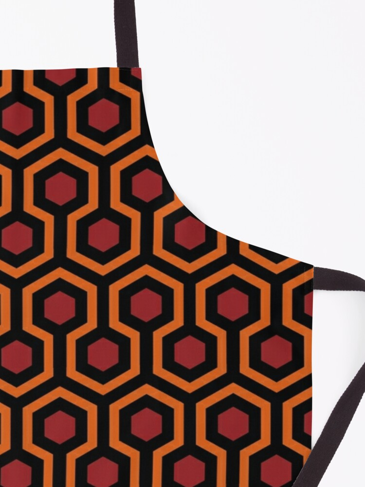 Alternate view of Overlook Hotel Carpet from The Shining Large Apron