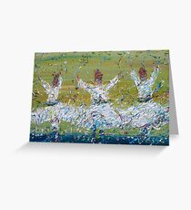 SUFI WHIRLING Greeting Card