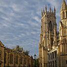 Aside of York Minster by Mark Baldwyn