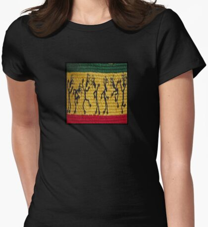 lively reggae dancers (square) front T-Shirt