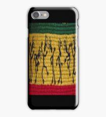 lively reggae dancers (square) iPhone Case/Skin