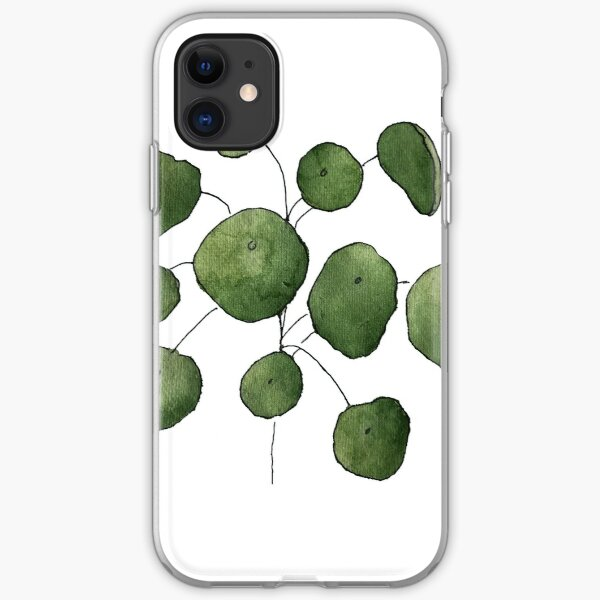 Pilea peperomioides iPhone Soft Case