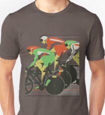 Velodrome bike race Unisex T-Shirt