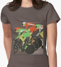 Velodrome bike race Women's Fitted T-Shirt