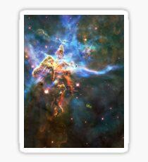 God's Domain | The Universe by Sir Douglas Fresh Sticker