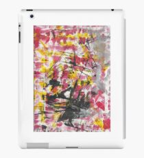 Chaotic War Abstract Painting iPad Case/Skin