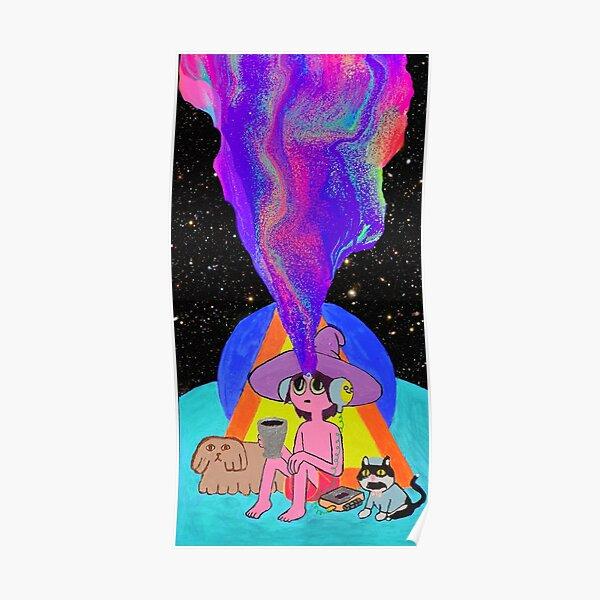 Opening the Third Eye, Midnight Gospel Clancy Poster