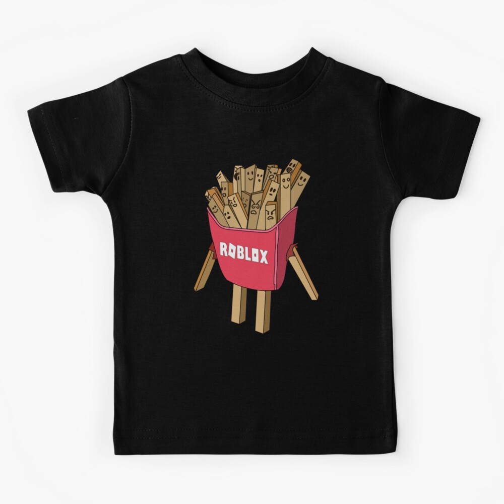roblox avatar french fries skin  Kids T-Shirt