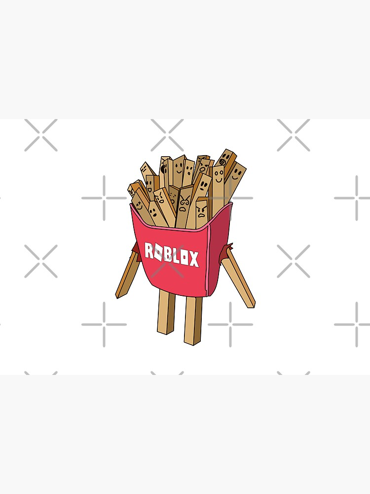 roblox avatar french fries skin  by StinkPad