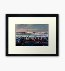 Alltime Cowries Framed Print