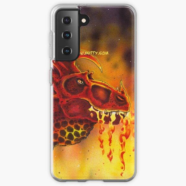 Fire Breathing Dragon Samsung Galaxy Soft Case