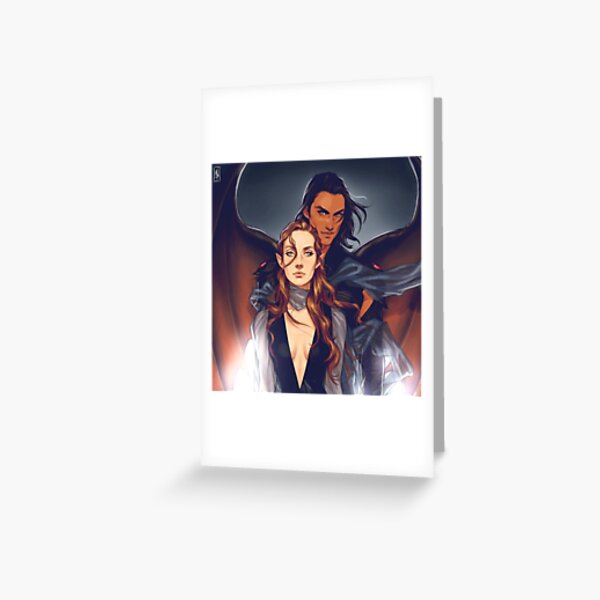 Nesta and Cassian Greeting Card