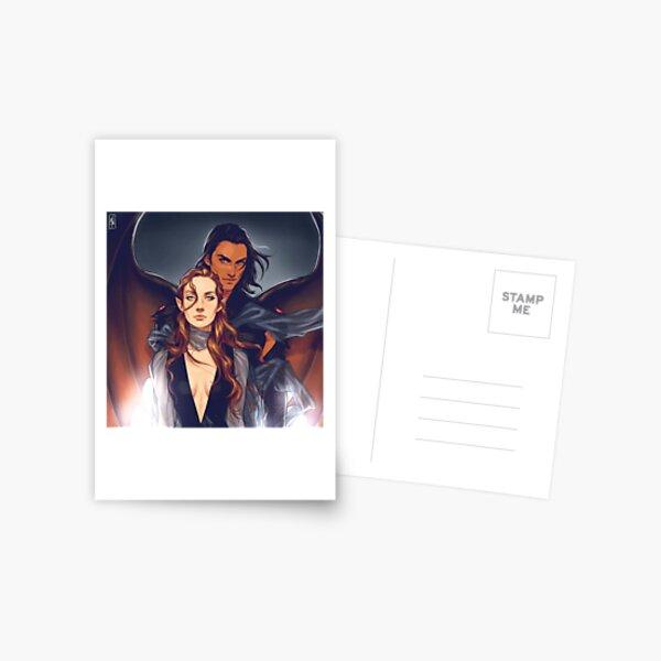 Nesta and Cassian Carte postale