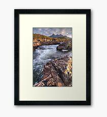 River Sligachan Framed Print