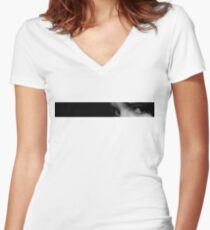 Just a glimpse Women's Fitted V-Neck T-Shirt