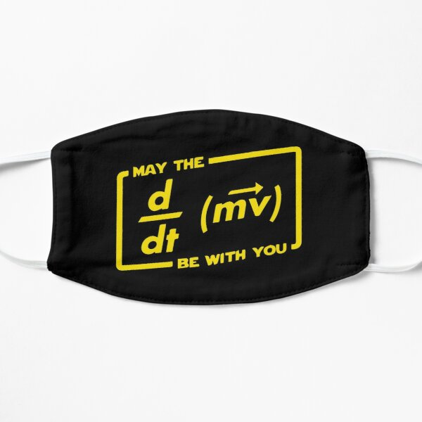 May The Force Be With You Flat Mask