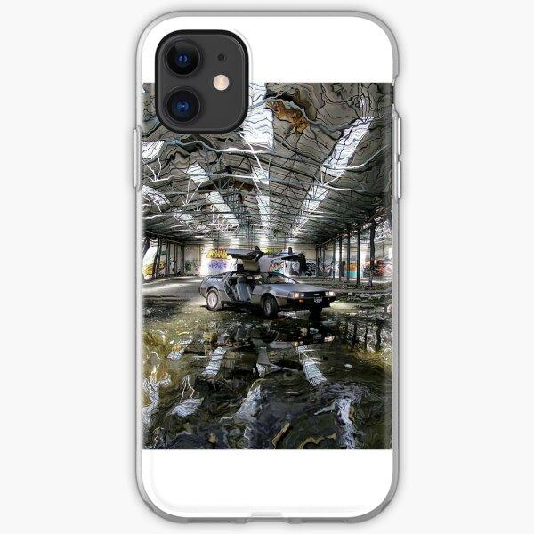 coque iphone 8 delorean