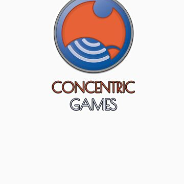 ConCentric Games Logo by concentric