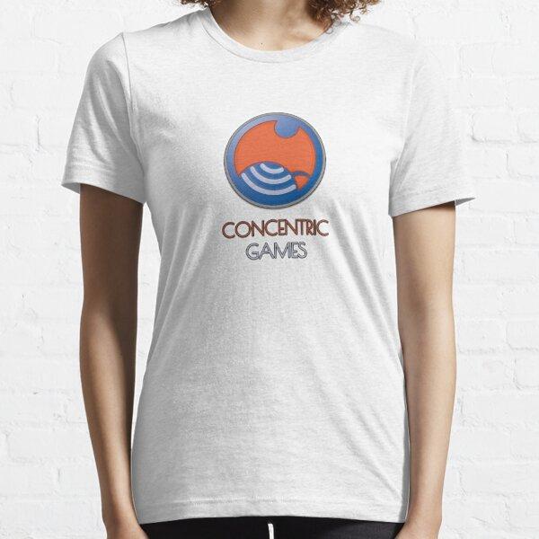 ConCentric Games Logo Essential T-Shirt