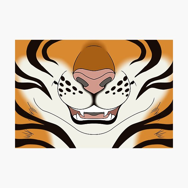Tiger Face  Photographic Print