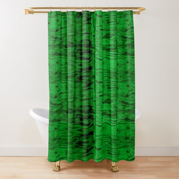 GREEN WOOD by SOTERO Shower Curtain