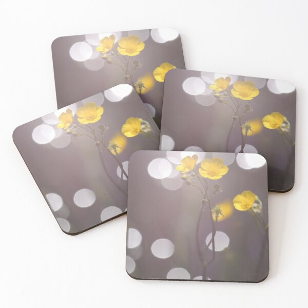 Flower Coasters (Set of 4)