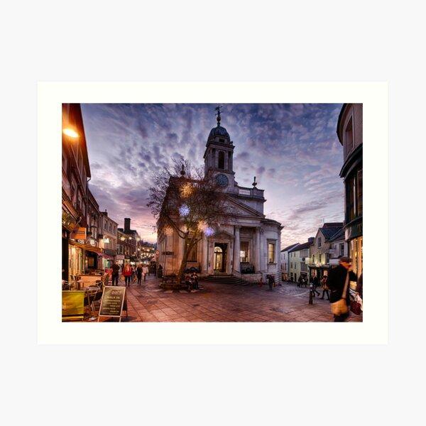 London Street, Norwich Art Print